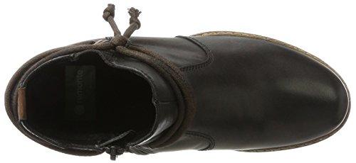 Remonte D8173, Stivali Western Donna Nero (Schwarz/chestnut)