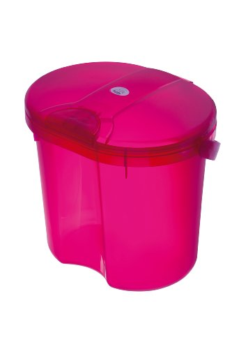 Rotho Babydesign 200020210 Top Windeleimer, translucent pink