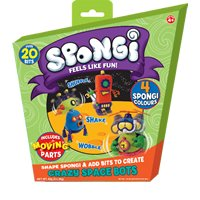 Spongi 221412 - Pack creativo de masa para modelar importado de Alemania