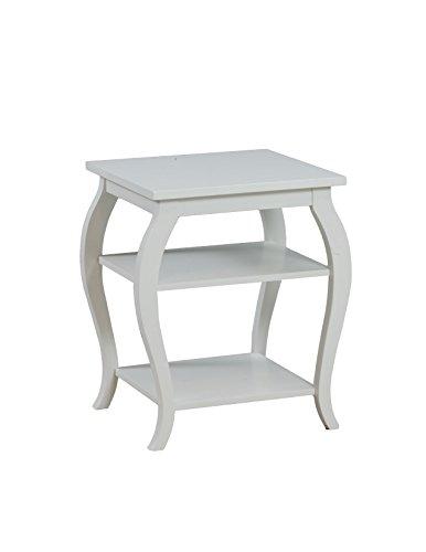 Powell 14A8094 Panorama-Tisch, Weiß