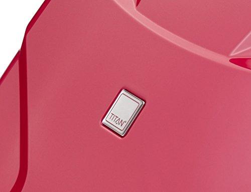 TITAN X2 Hartschalenkoffer Handgepäck, 825406-28 Koffer, 55 cm, 40 L, Fresh Pink - 3