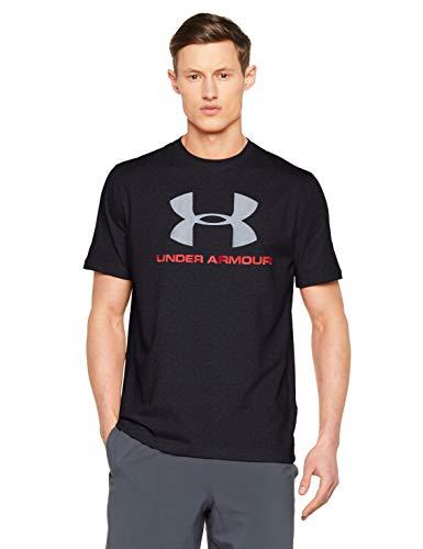 Under Armour Herren T-Shirt Sportstyle Logo 1257615 Black/Red/Steel XXXL купить на Амазон де в Германии с доставкой в страны СНГ