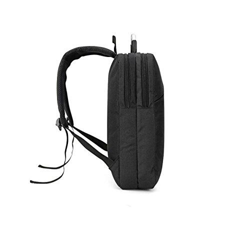 Männer Und Frauen Können Computer-Tasche Schulter Tasche Business-Paket Mode Tasche Rucksack Freizeit Einfach Wilden Outdoor Black