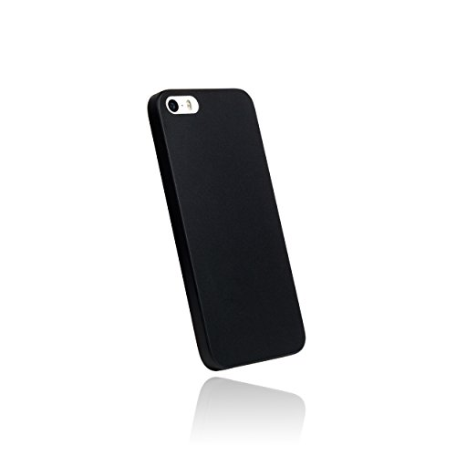 hardwrk ultra-slim Case für iPhone SE 5 5s - solid black - ultradünne Hülle für Apple iPhone in schwarz solid black