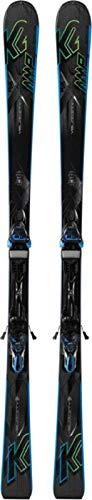 K2 Skis Herren Ski Set Amp Velocity Inklusive Bindung M3 11 TC, 1050002.240.1.179