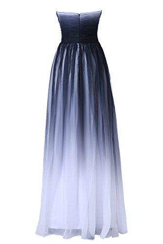 Gorgeous Bride Abendkleider Elegant Lang 2017 Damen Chiffon A-Linie Ballkleider Festkleider Cocktailkleider Mehrfabrig