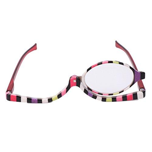 Lergo Vergrößerungsglas / Kosmetikbrille / Lesebrille, klappbar +1.0 - +4.0 Nr. 2