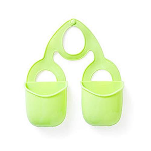 ulofpc Küche Silikon-Wasserhahn hängende Abfluss Korb Spüle Bad Sponge Gadget Speicher Tasche Gadgets Silikon