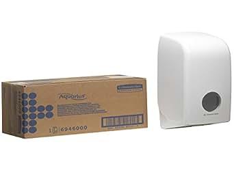 aquarius 6946 distributeur de papier toilette blanc commerce industrie science. Black Bedroom Furniture Sets. Home Design Ideas