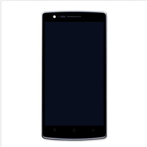 oneplus A0001 A2003 A2001 A3000 A3003 A3010 A5000 E1001 E1000 Display im Komplettset LCD Ersatz Für Touchscreen Glas Reparatur (ONEPLUS One 1, Schwarz + Rahmen)