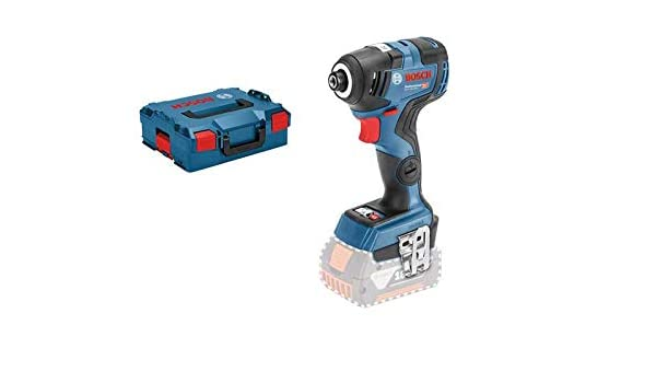 58cd924fe Bosch Professional Cordless Impact Driver GDR 18V-200 C (Without Battery,  18 V, Torque: 200 Nm, L-Boxx): Amazon.co.uk: DIY & Tools