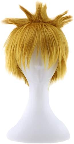 Kurze Herren Perücke Anime Cosplay Synthetisches Haar Kurz Mehrfarbig Glattes Haar (Naruto Cosplay Kostüme Uk)