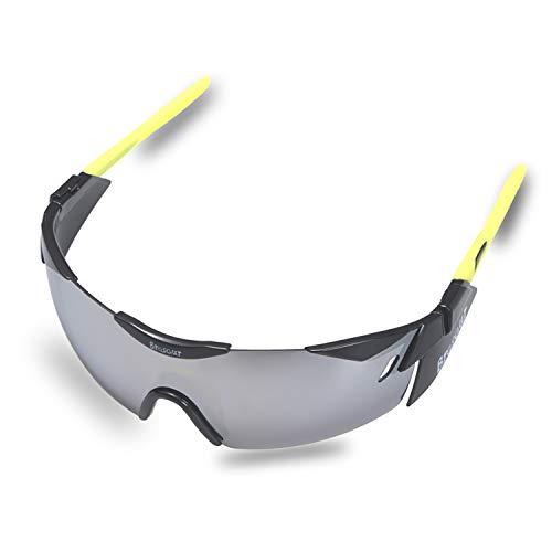 BRZSACR Sport-Sonnenbrille mit austauschbaren Lenes für Männer Frauen Radfahren Laufen Fahren Angeln Golf Baseball Brillen (3-Farben-Wechselobjektiv) (Schwarz)