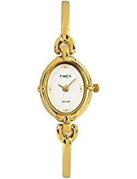 Timex Classics Analog White Dial Women's Watch - LK00