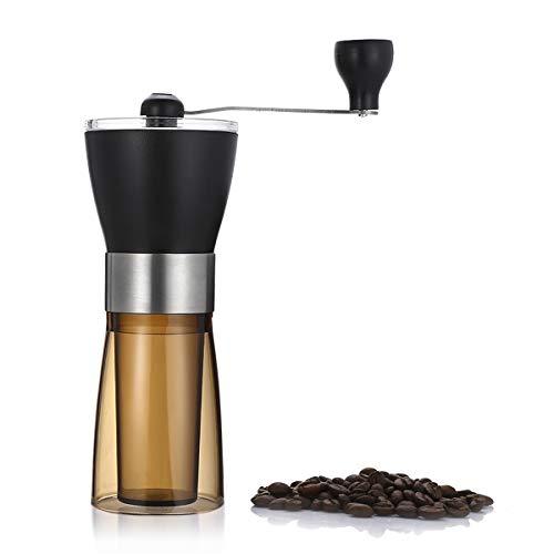 Vollautomatisches Gerät Manuelle Kaffeemühle Tragbare Handschleifmaschine, Handgekurbelte Kaffeemühle Tragbare Kaffeemühle