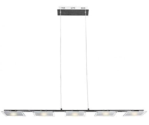 FineBuy 25W LED Pendelleuchte Lampe Leuchte Deckenleuchte (EEK: A+)