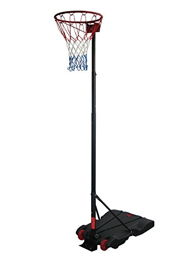 Adulte Netball Système Hauteur 236-305cm. Diamètre 38cm pour intérieur et extérieur (1419)