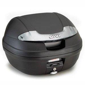 Givi E340NT Vision Tech Monolock Baúl con Placa Negro, Carga Máxima 3 Kg