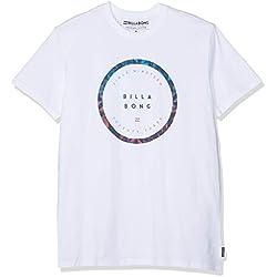 BILLABONG ROTATED SS Camiseta, Blanco (White 10), X-Small (Tamaño del Fabricante:XS) para Hombre