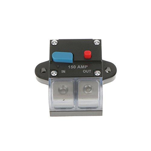 Baoblaze Hochstrom AWG Schutzschalter 12 V Car Audio Sicherung - 150 Ampere (Car-audio-sicherungen)