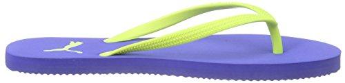 Puma First Flip Wns, Infradito Donna Blu (Blau (dazzling blue-safety yellow 02))