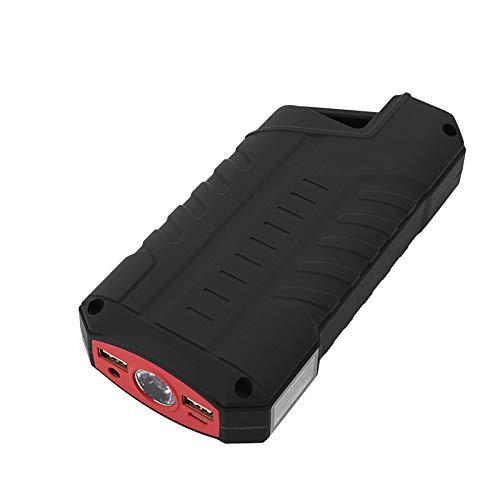 50800Mah Kit De Démarrage De Voiture De Démarrage 12V Auto Batterie Booster De Voiture Démarreur De Démarrage Portable Power Chargeur Bankusb3.0 Et LED Lampe De Poche,Red