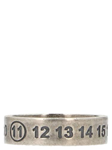 Luxury Fashion | Maison Margiela Damen S30UQ0016S11914961 Silber Ring | Herbst Winter 19