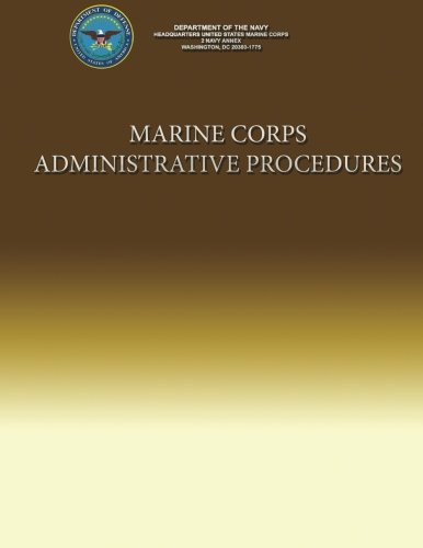 Marine Corps Administrative Procedures por Marine Corps