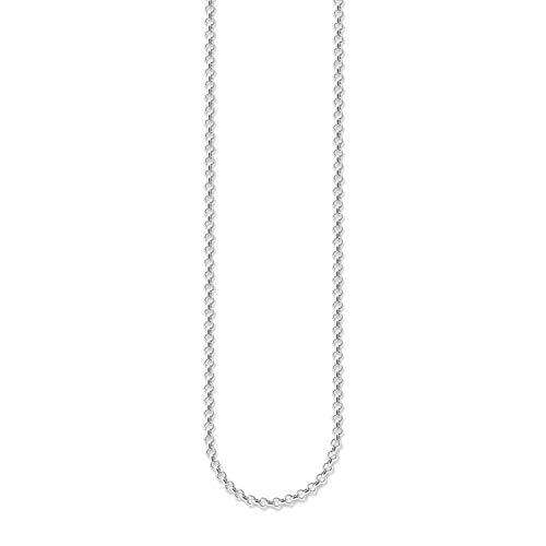Thomas Sabo Damen-Charm-Kette Charm Club 925 Sterling Silber Länge von 38 bis 42 cm X0001-001-12-L42v