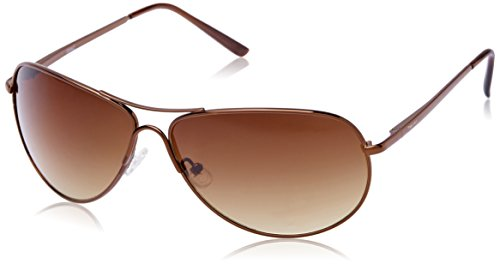 Fastrack M050BR5 Aviator Sunglasses (Brown, Free Size)