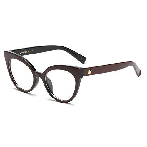 scarpe sportive ded5e 6c70e Hibote Montatura per occhiali da vista vintage retrò da uomo