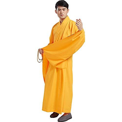 ZooBoo Mönch Buddhist Kostüm Robe - Chinesische Traditionelle -