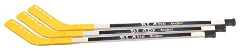 Gamecraft 109,2cm Senior Boden Hockey Sticks (Set von 3)-Gelb