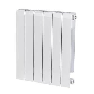 Alessia ALH 580-480 Designer Aluminium Horizontal Radiator, White