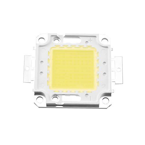 Alta potencia Blanco/Cálido Blanco 3000mA 32-35V RGB SMD Led Lámpara de proyector Luz de inundación Foco integrado 100W 10000LM
