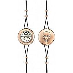 Uhr Marco mavilla Pepito Reversible Skull Gold psk01rg