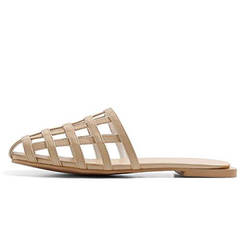 Pantofole cave usate di moda estiva/Europa piatta e sandali degli stati uniti D