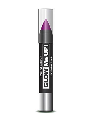Smiffy's SM46139 - Crayon Maquillage UV 3 g Violet - Taille Unique
