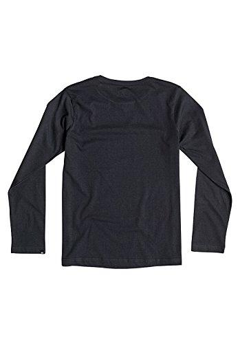 Quiksilver Line Up Langarm T-Shirt Schwarz