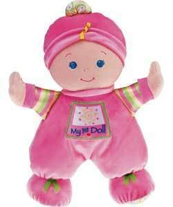 Babys First Doll (Colour may vary) de Fisher Price