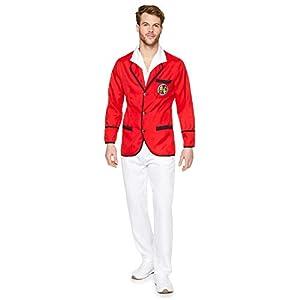 Karnival 82270 - Disfraz de repelente de vacaciones para hombre, color rojo, talla M