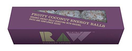 Raw Health Fruity Coconut Energy Balls, 60 g