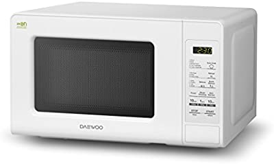 Daewoo KOR-6F0BDUO Microondas, 20 litros, sin Grill, Color Blanco, 700 W
