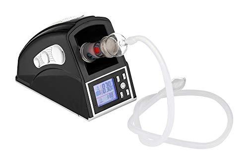 bong-discount Vaporizer, Tisch-Verdampfer, Vaporisator für KRÄUTER und Aroma-Therapie | 100-210 Grad Celsius, stufenlos | schwarz | Pop-Vapor