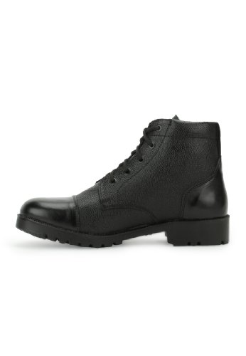 Armstar Men's Black Leather Ankle Boots (Aa-Dms) 9 UK