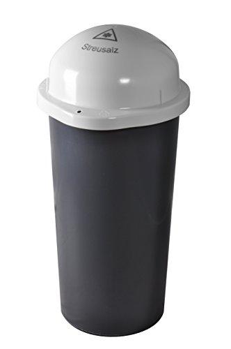 Preisvergleich Produktbild KUEFA Duo 60L - Streusalz Sammelbehälter mit Laserbeschriftung (Weiss, Streusalz)