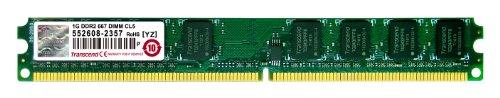 Transcend JM667QLU-1G 1GB JetRam DDR2 667 U-DIMM