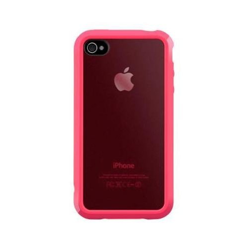 SwitchEasy Trim Hardcover Hülle für Apple iPhone 4S 4 rot red Pink