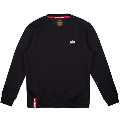 Alpha Industries Basic Smaill Logo Sweater black