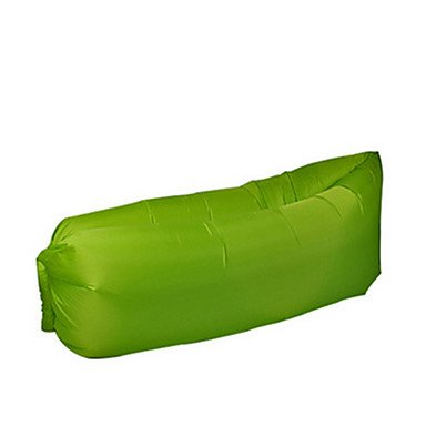 BTJC 0.16 Aufgeblasene Matte Halb - rechteckiger Schlafsack Einzelbett(150 x 200 cm) 10 Aufgeblasen 1000g 230X100 Camping / Reisen / Drinnen , white Aufgeblasen Schlafsack
